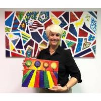 "COVID-19 ""Retooling"" Grant Enables Businesswoman to Bring Art to Children in Need"