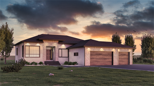 Amazing Exterior Rendering for a home to be build. Our designer does amazing work. Call us to get your next project rendered before you start.