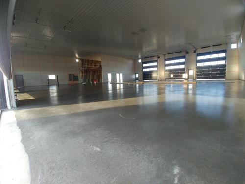Our concrete guys did an amazing job on this large floor. Way to go!