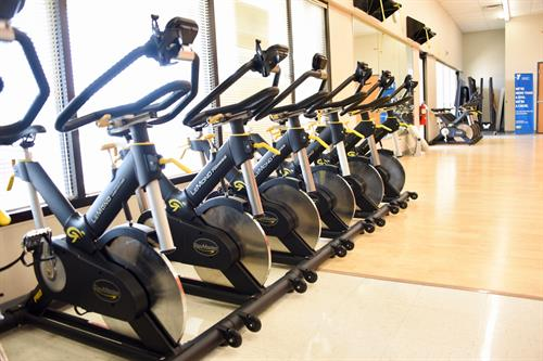 Check out our bikes for Cycle Spin classes or spinning on your own.