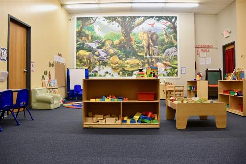 Enroll in our 5-Star rated preschool (available for members and non-members).