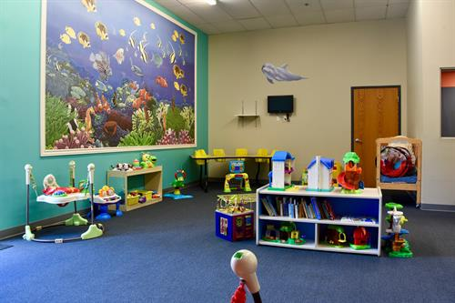 Our childcare is free for members for up to 2 hours per day!