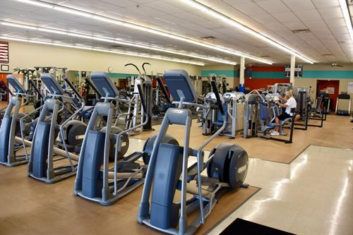 Check out all this cardio equipment!