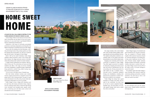Feature in our December 2019 issue