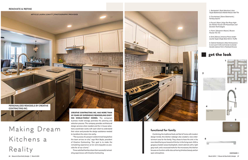 Feature story in our Homes issue