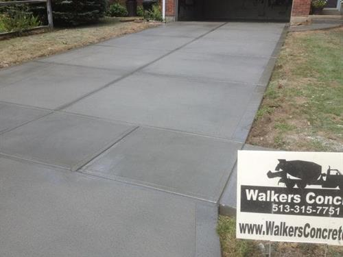 Concrete Driveway Replacement in Mason Ohio