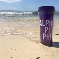 Alpha Pi Phi Acrylic Tumbler