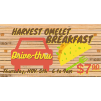 Drive-Thru Harvest Omelet Breakfast
