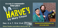 Boone Community Theatre presents Harvey by Mary Chase