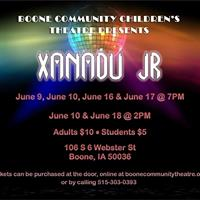 Xanadu Jr. where Greek mythology meets 80's glitter!