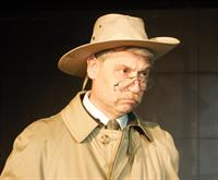 John Hoffman as Teddy Roosevelt in Bully