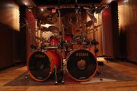 Live Room B - The percussion and drum recording room