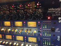 Various Pre amplifiers including Millennia Focusrite, Manley, Avalon
