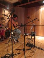 Recording acoustic guitars in live room B