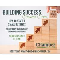 Building Success Seminar Series-How to start a small business