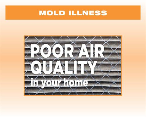 Poor Air Quality in your home
