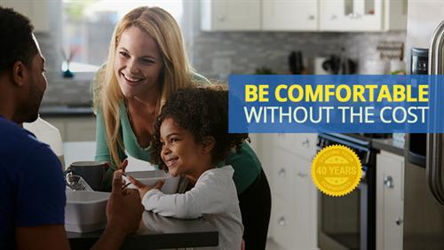 Comfort and savings