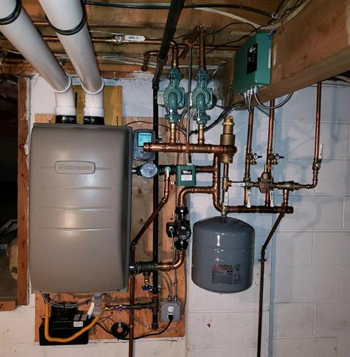 Combi Boiler system by Weil McLane