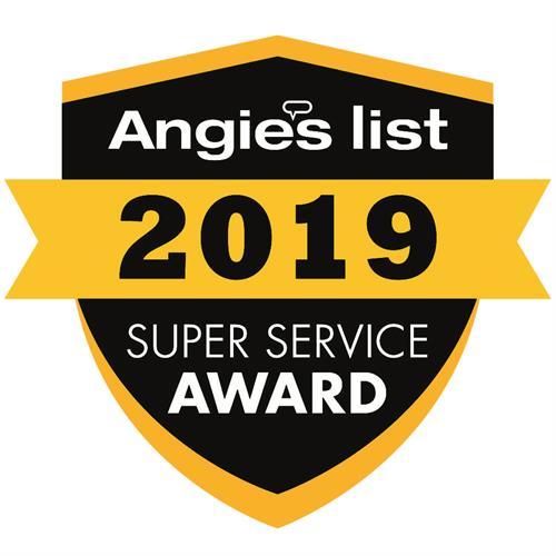 Angies List Super Service Award Winner 7 years running