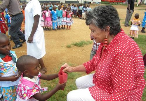 Giving Back: Sylvia's Children is Holmdel based non profit we believe in.  Sylvia Alllen and her team believe in the future of Uganda, Africa.  Creating change one child at a time through education, healthcare and the arts.  Sylvia also supports about 299 orphans enrolled in the Mbriizi School.  Children who have lost their family to AIDS, Malaria, TB and other acute illnesses.