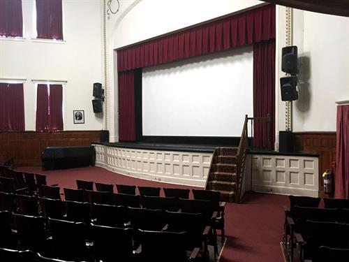 Palaia Theater (with movie screen in position)