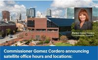 Commissioner Gomez Cordero Satellite Office Hours