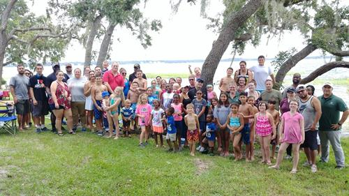 Camaraderie hosts family fun day events for military families.