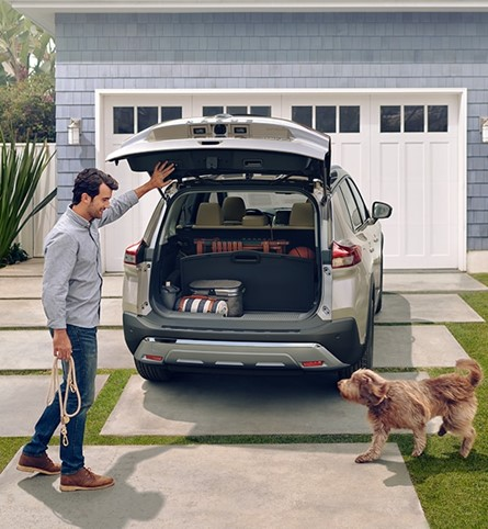 Generous cargo space to accommodate all your adventures. #NissanRogue