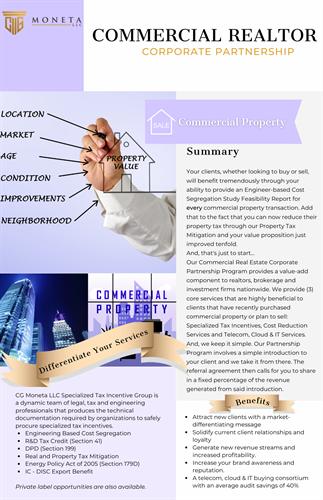 Commercial Realtor Corporate Partnership Program