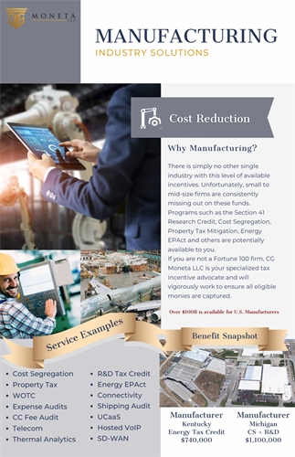 Manufacturing Industry Solutions
