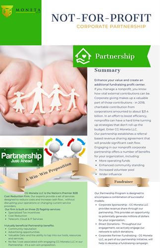 Nonprofit Corporate Partnership Program