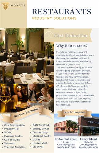 Restaurant Industry Solutions