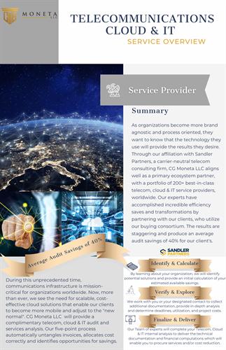 Telecommunication, Cloud & IT Optimization