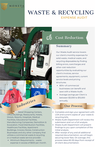 Waste & Recycling - Cost Reduction