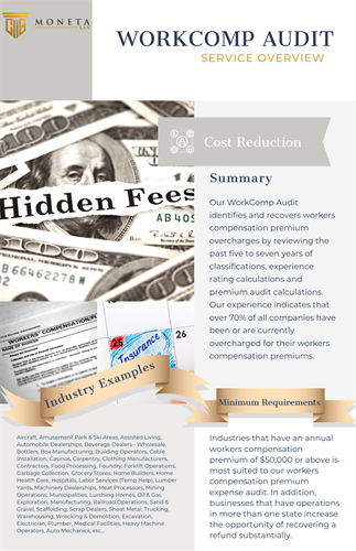 Workers Comp Insurance - Cost Reduction