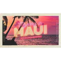 Mystery in Maui