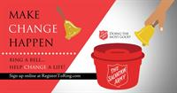 2021 Holiday Volunteer Opportunities with The Salvation Army