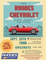 The Rhodes Chevrolet First Annual Car Show