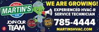 Martin's Heating & Air, Inc.