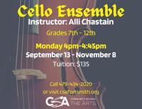 Cello Ensemble (grades 7-12)