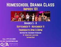 Homeschool Drama: Improv 101(grades 5-8)