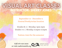 CSA: Visual Art Class(grades K-3)