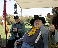 Civil War Re-enactors photo