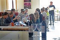 Art class & wine