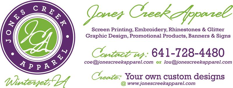 Jones Creek Apparel, LLC