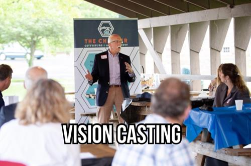 "Gettysburg ""Vision Casting"" Book Tour"