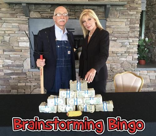 Brainstorming Bingo: Compete for Cash. Best Idea WINS!