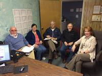 Meeting with GEM 104 to get ready to start the new congregation of the Endless Mountains Church of Christ
