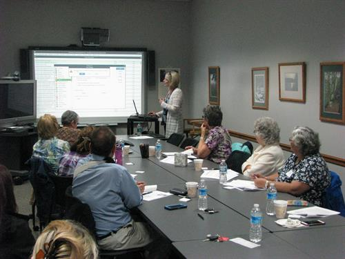 Teaching a QuickBooks Class at NTRPDC