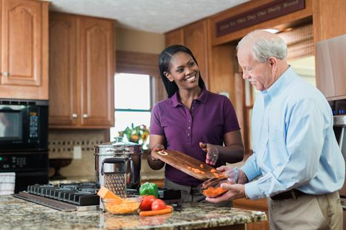 Meal prep, light housekeeping, laundry, medication reminders, errands and transportation and personal care are some of the services we offer. Each care plan is customized to each individual's needs.